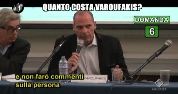 Varoufakis Le Iene