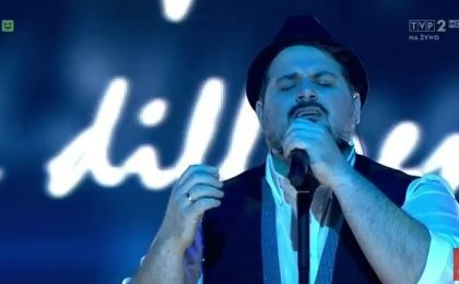 William Prestigiacomo tra i finalisti a The Voice of Poland