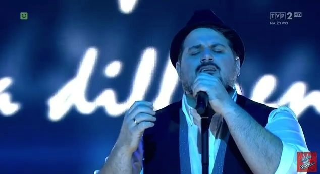 William Prestigiacomo tra i finalisti a The Voice of Poland