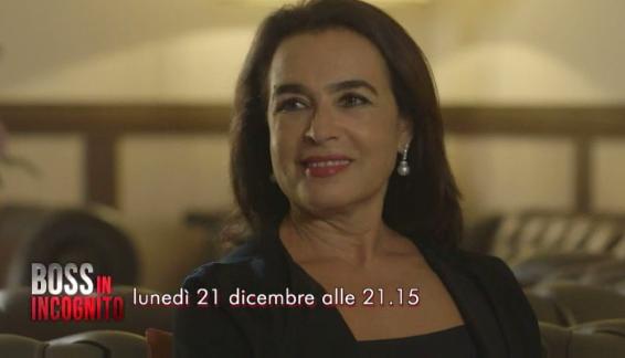 Boss in Incognito, 21 dicembre 2015