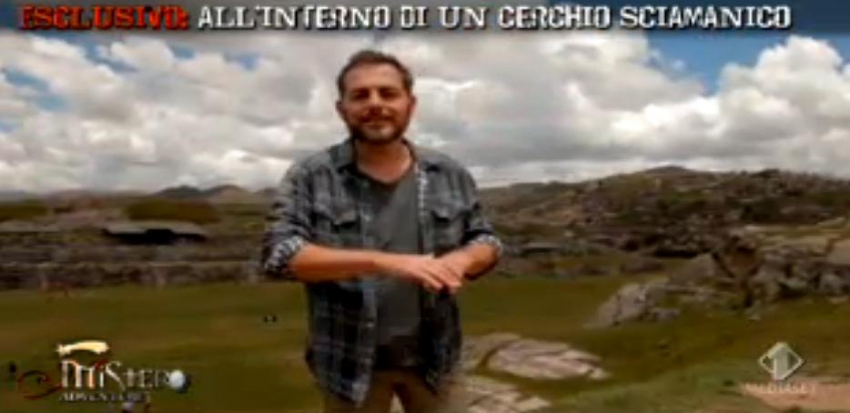 Daniele Bossari in cerca di El Dorado