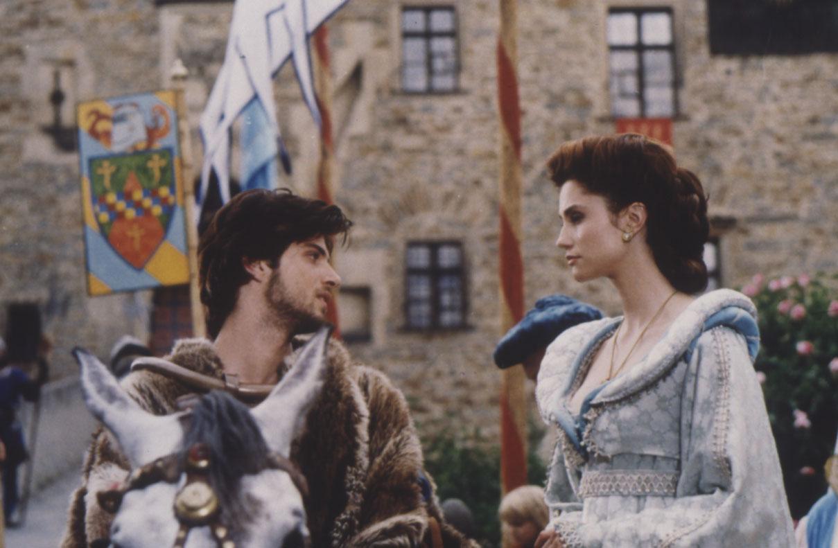 Fantaghirò e Romualdo al castello