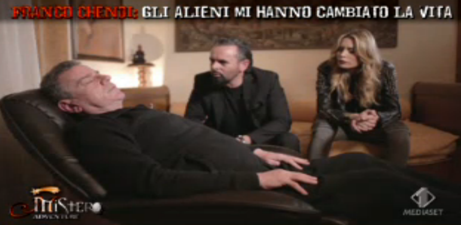 Franco Chendi si sottopone a ipnosi regressiva