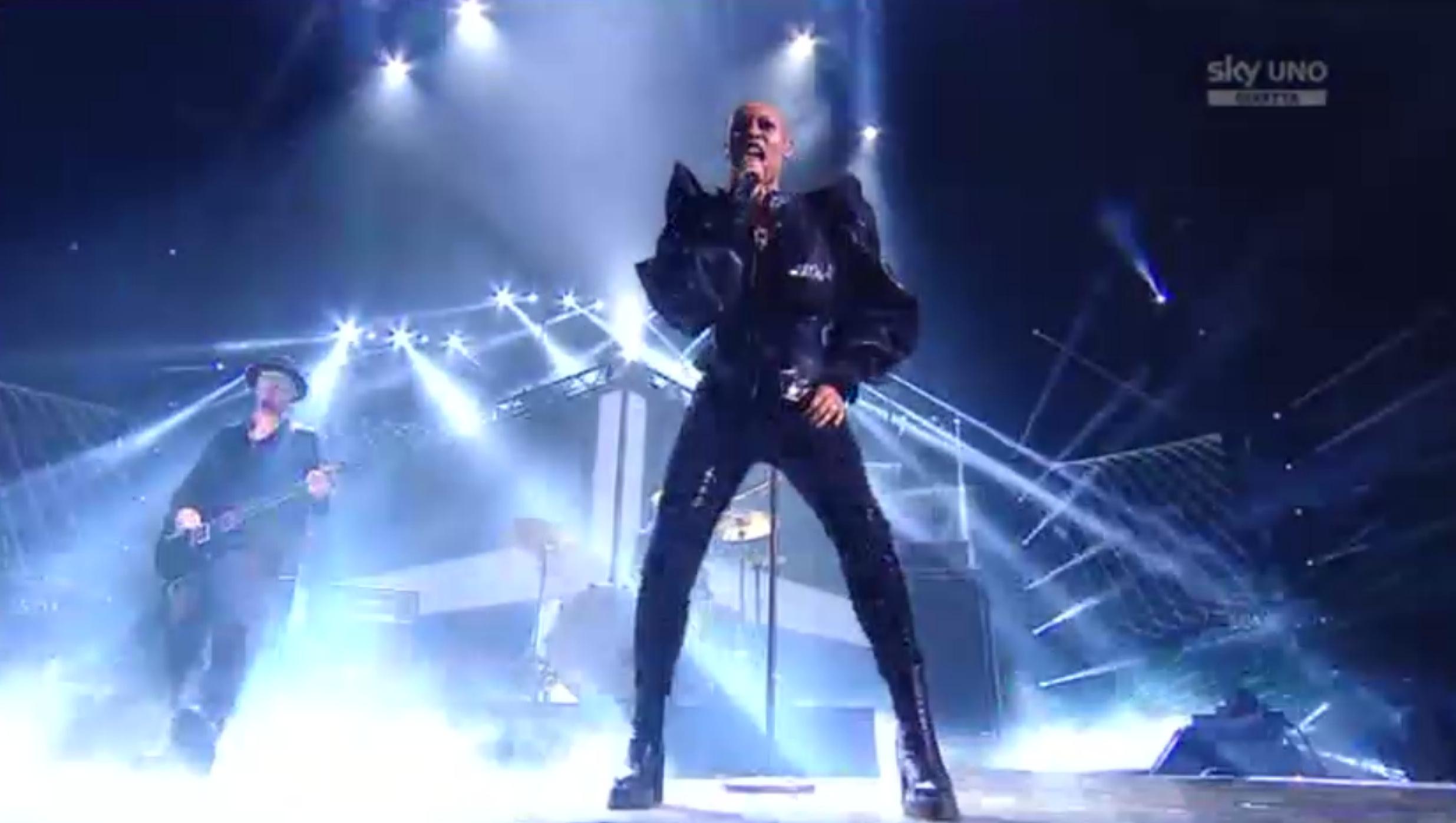 Gli Skunk Anansie alla Finale di X Factor