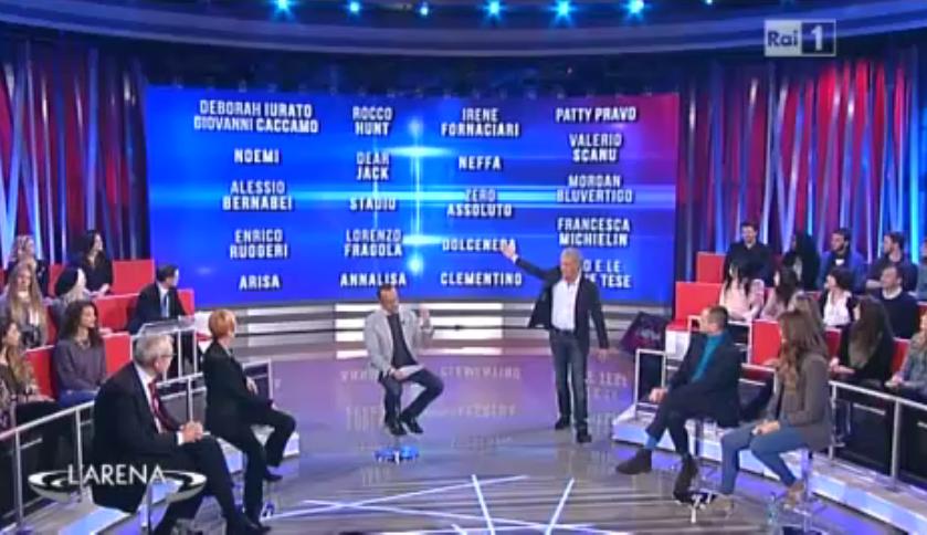 I 24 cantanti di Sanremo 2016