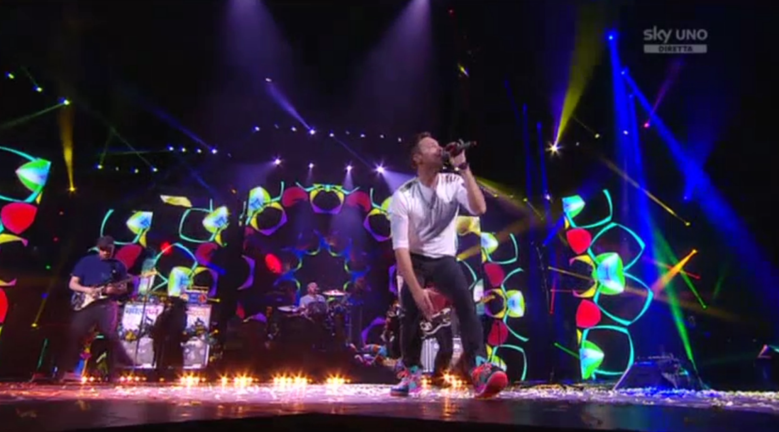 I Coldplay alla Finale di X Factor