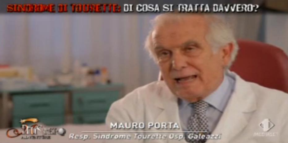 Il dottor Mauro Porta spiega la sindrome di Tourette a Mistero Adventure