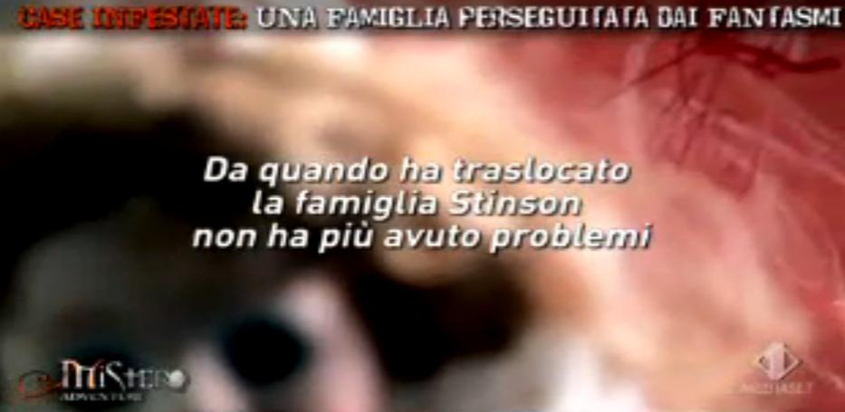 La Famiglia Stinson e i fantasmi