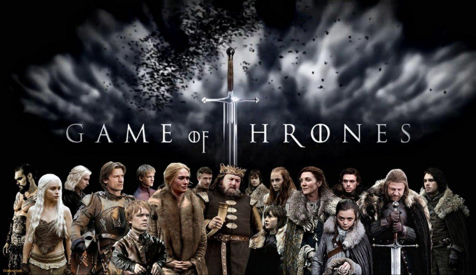 La serie tv Game Of Thrones