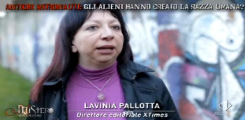 Lavinia Pallotta e gli antichi astronauti