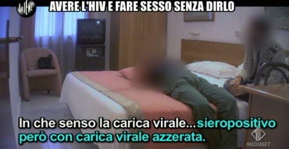 Nadia Toffa servizio HIV