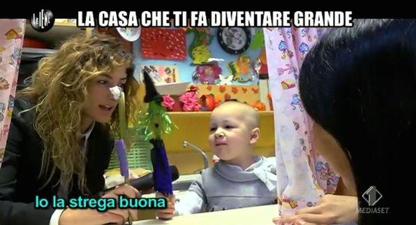 Nina Palmieri servizio ultima puntata