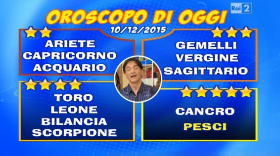 Oroscopo Paolo Fox 10 dicembre 2015, tutti i segni