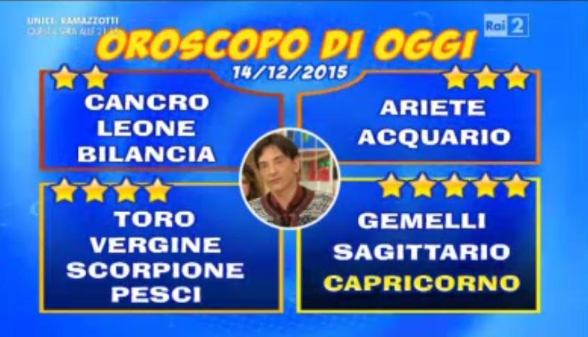 Oroscopo Paolo Fox 14 dicembre 2015