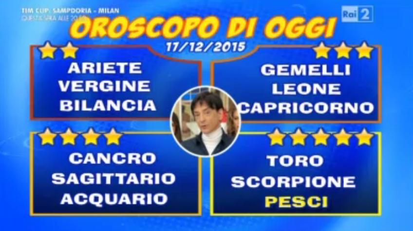 Oroscopo Paolo Fox 17 dicembre 2015