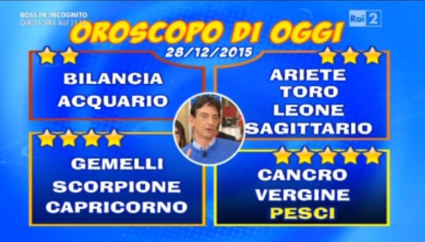 Oroscopo Paolo Fox 28 dicembre 2015