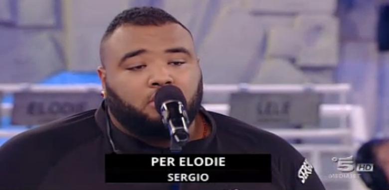 Sergio dedica una canzone allo zio