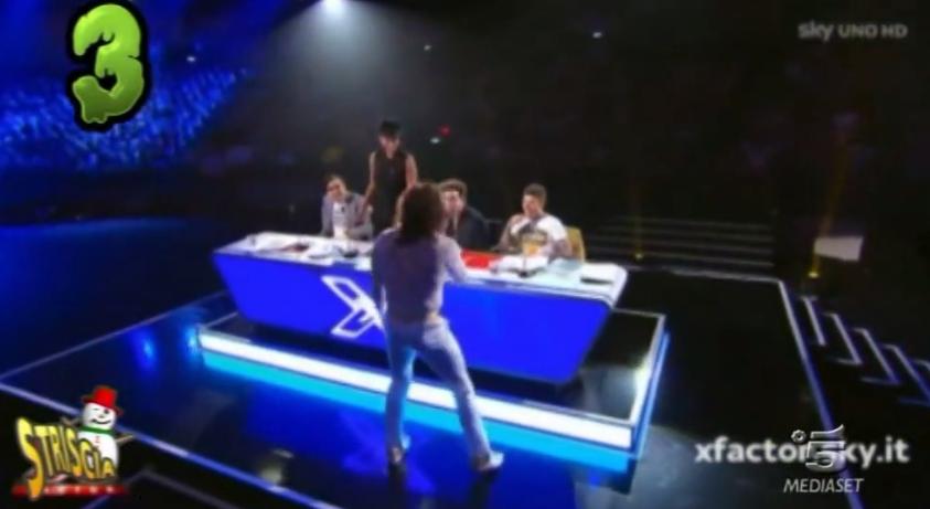 Skin e Sandro a X Factor