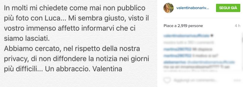 Valentina Bonariva Instagram