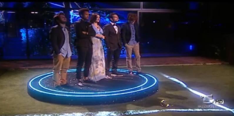 i 5 finalisti ufficiali di Grande Fratello 2015