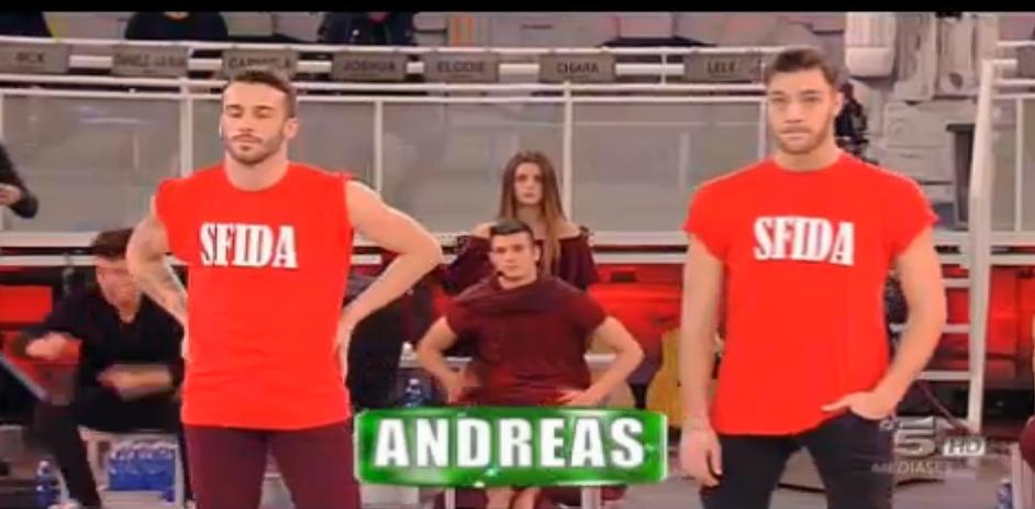 Andreas vince la sfida immediata