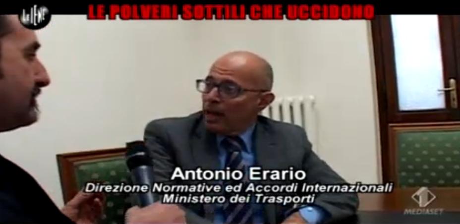 Antonio Erario intervistato da Luigi Pelazza