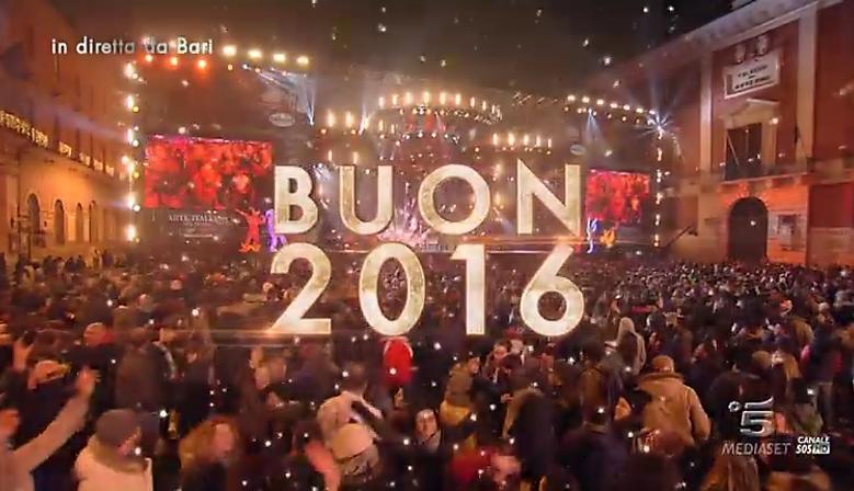 Capodanno 2016 Gigi D'Alessio