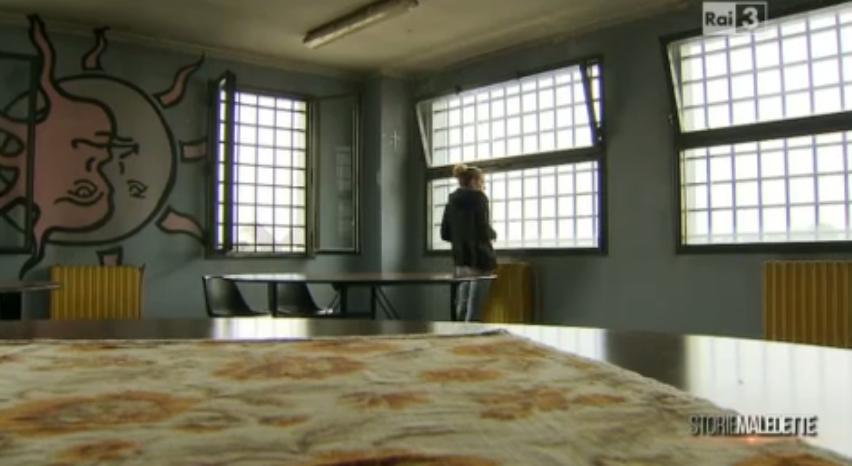 Celeste nel carcere di Bollate