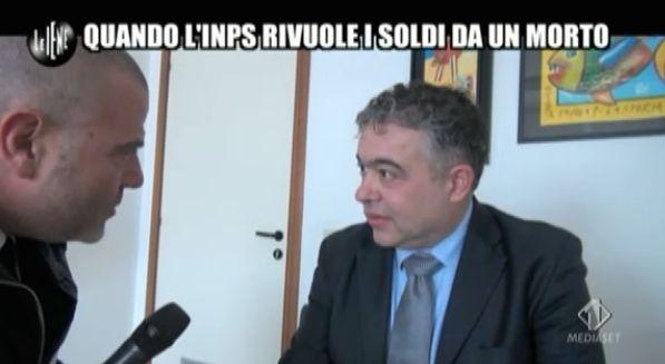 Giulio Golia errore Inps