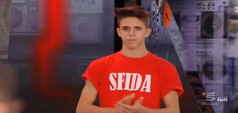 Il ballerino Paolo in sfida contro Erick