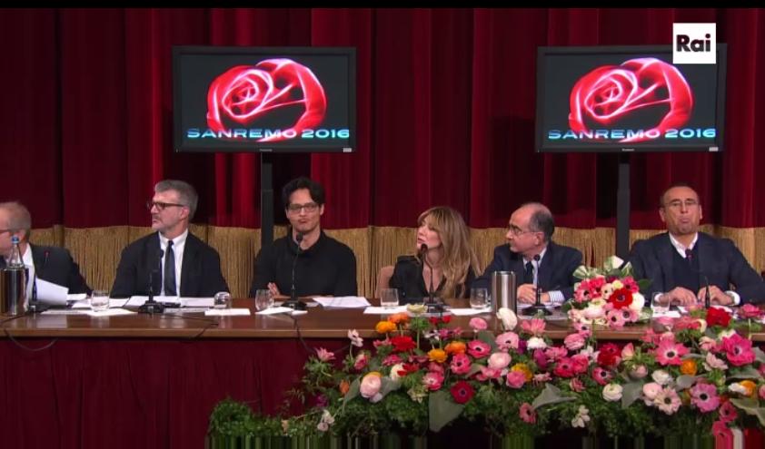 Il simbolo della rosa per Sanremo