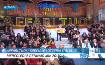 Affari tuoi, Speciale Lotteria Italia 2016 in diretta su Rai 1: gli ospiti di Flavio Insinna