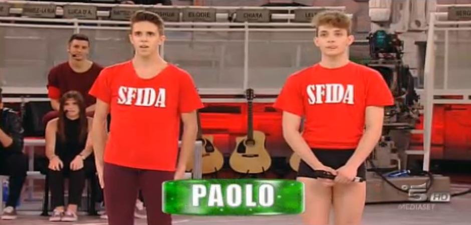 Paolo vince la sfida di ballo