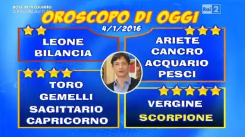 Previsioni segni zodiacali 4 gennaio 2015