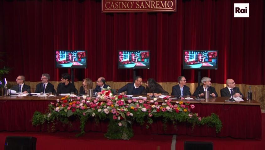 Prime immagini scenografia Sanremo 2016