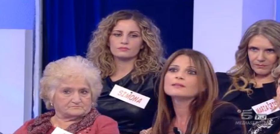 Simona vs Giuliana, lite