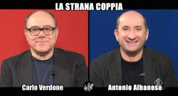 Verdone Albanese intervista doppia