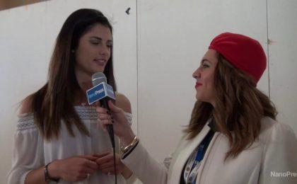 """Daniela Ferolla a Sanremo 2016: """"Faccio il tifo per Rocco Hunt"""""""