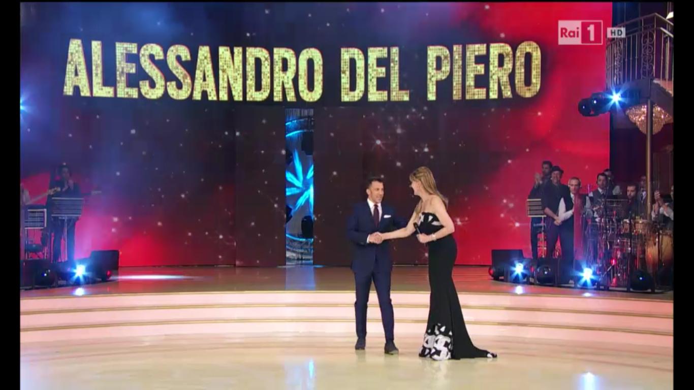 Alesandro Del Piero a Ballando