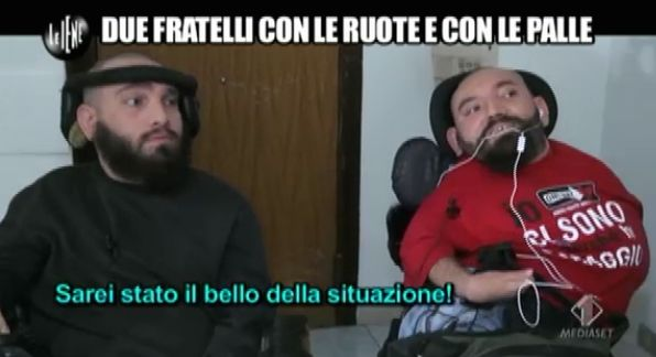 Alessio e Gianluca Le Iene