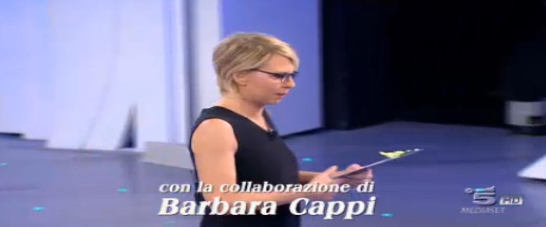 Barbara Cappi tra gli autori di C'è posta per te