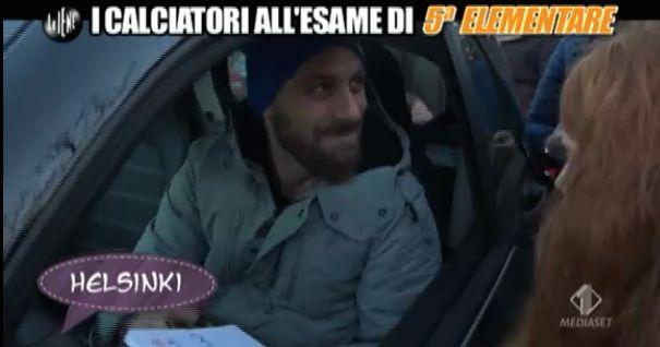 De Rossi Le Iene esame