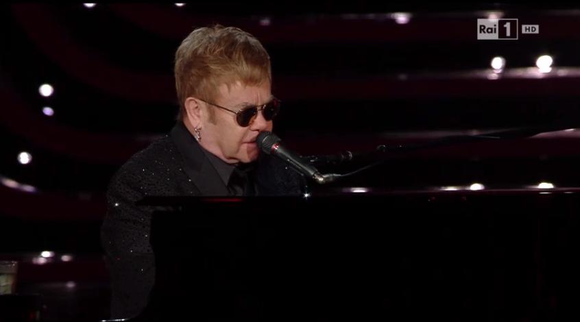 Elton John all'Ariston