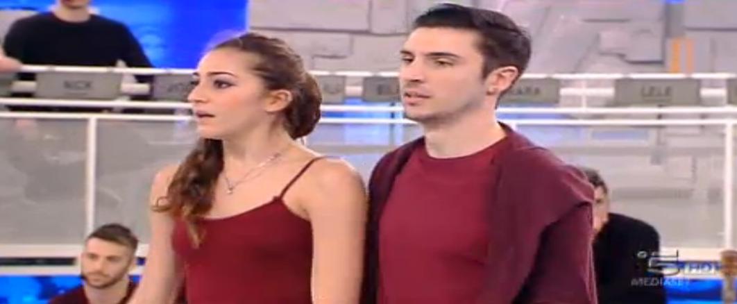Emanuele con Benedetta