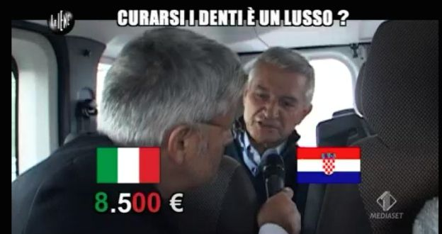 Enrico Lucci servizio dentisti