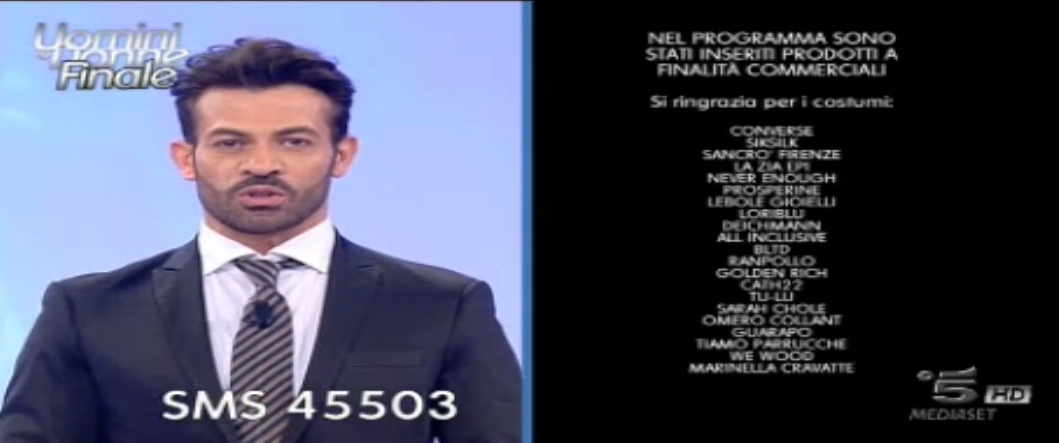 Finale 26 febbraio con Gianni Sperti