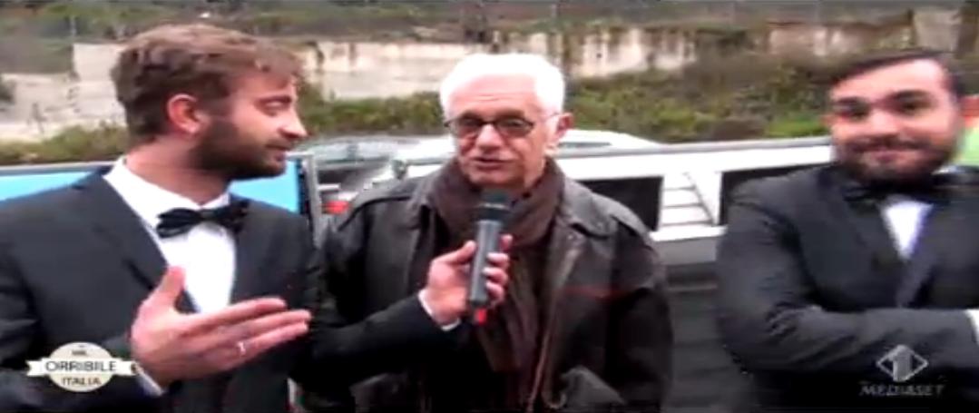 Franco Oppini candidato Mr Orribile