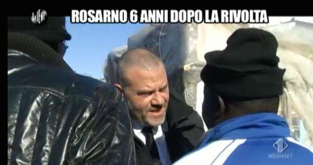 Giulio Golia a Rosarno