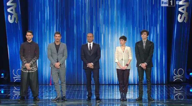 I 4 finalisti di Sanremo Giovani