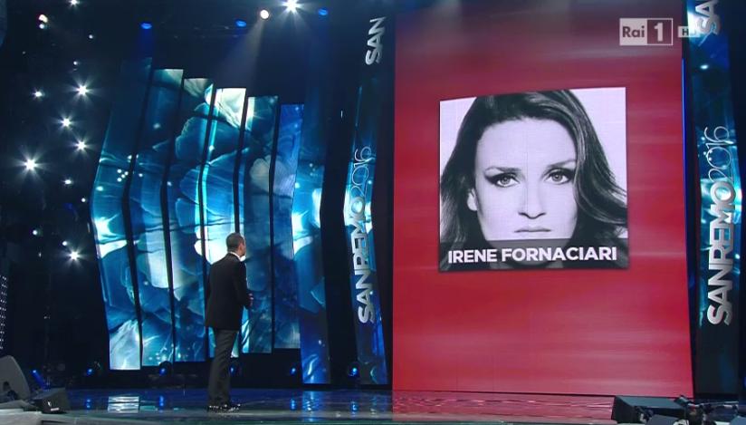 Irene Fornaciari ripescata